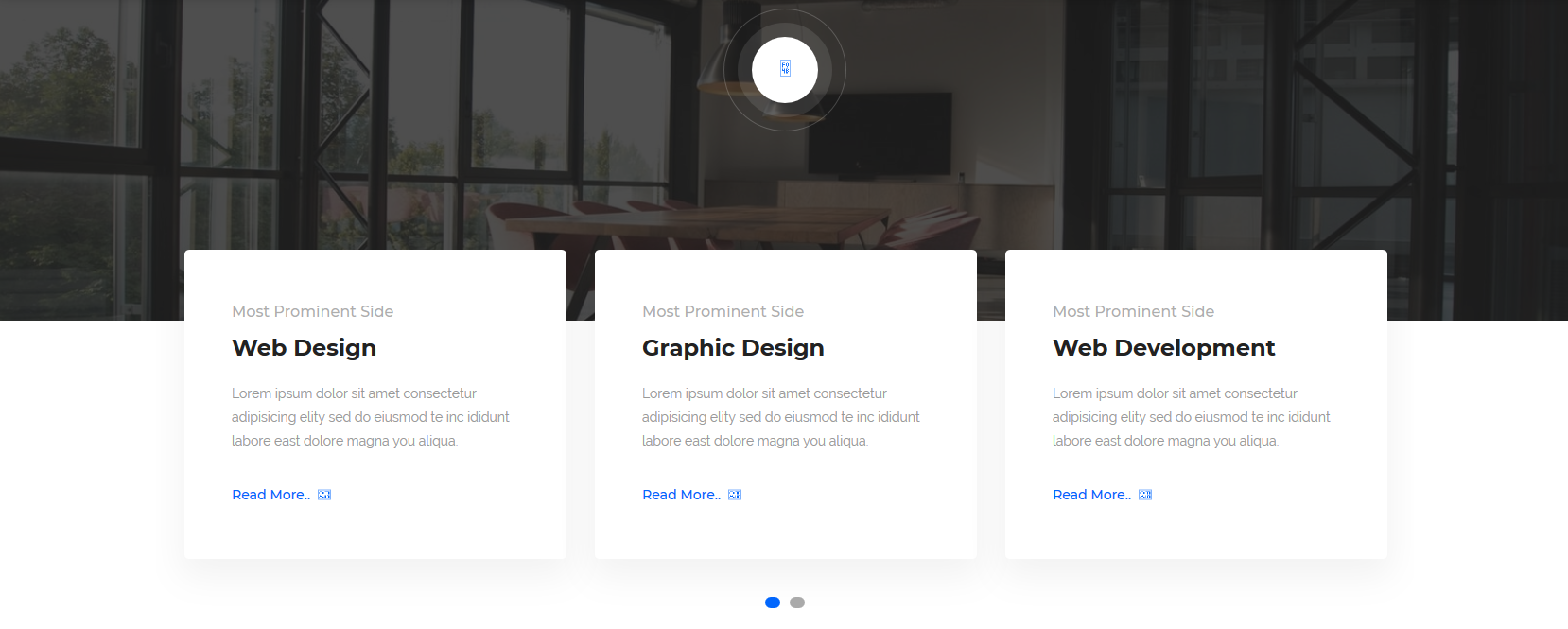 服务项目网页版式-图片