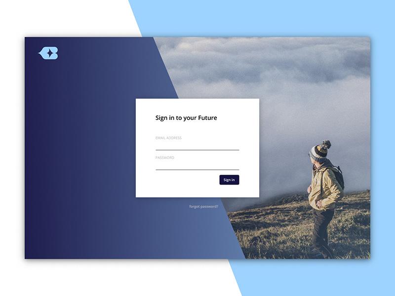 登录注册界面